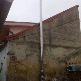 komín nerezový trojvrstvový - montáž